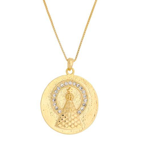 Colar Medalha de Nossa Senhora