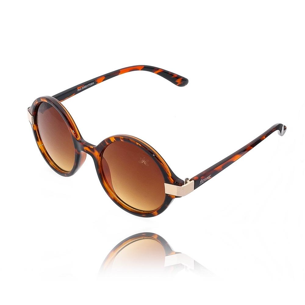 72673ad16 Óculos de Sol Redondo com Estampa de Onça | Kitbox