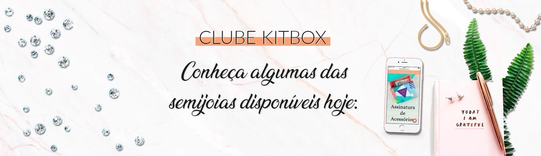 Conheça algumas das semijoias disponíveis no Clube de Acessórios da Kitbox