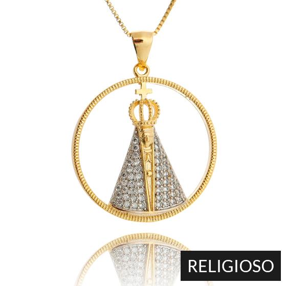 Coleção de Semi Joias Religiosas