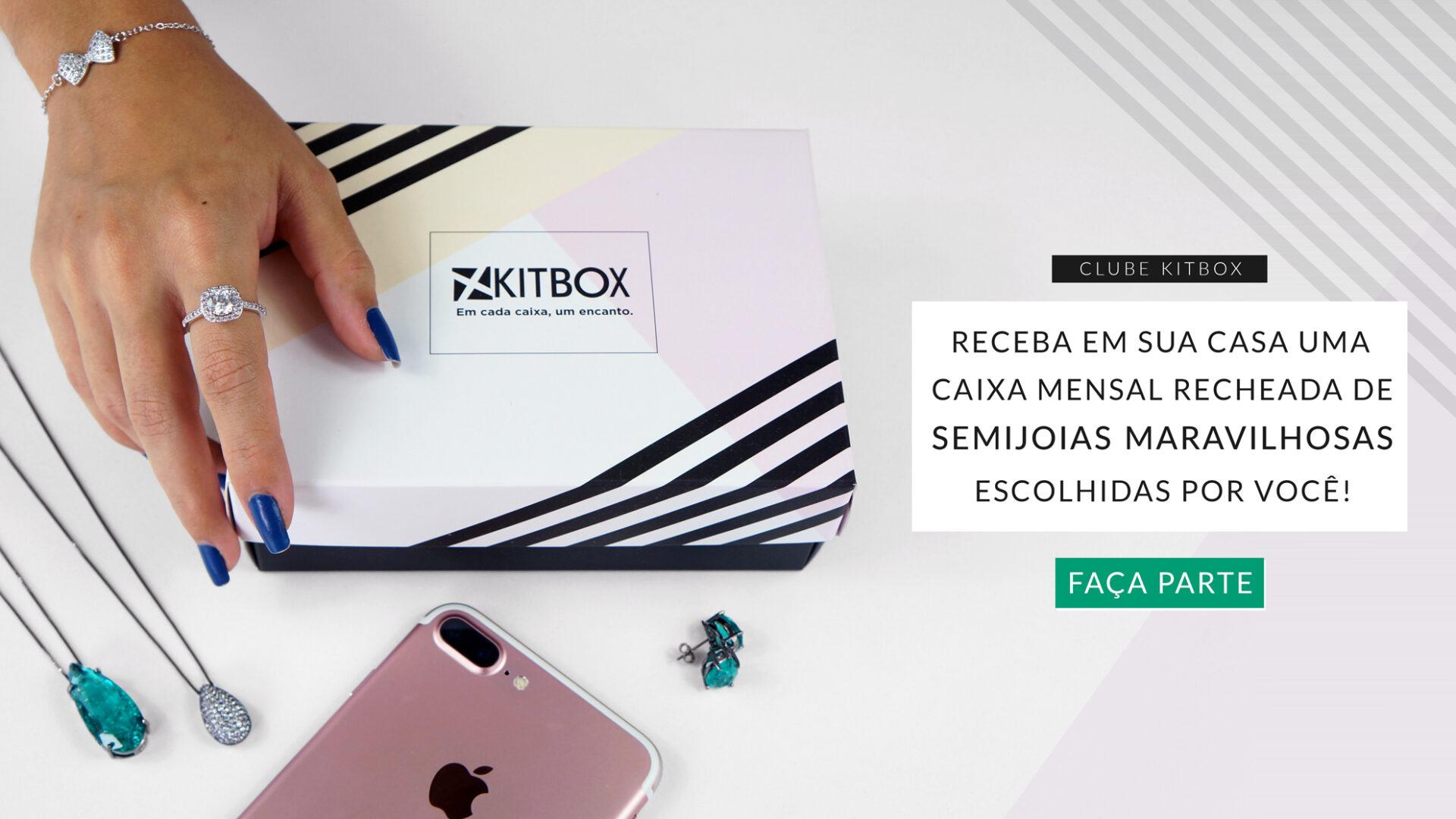 Semi joias Kitbox Janeiro 2019