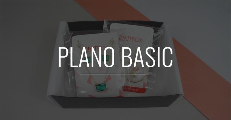 Plano Basic do Clube de assinatura de semijoias