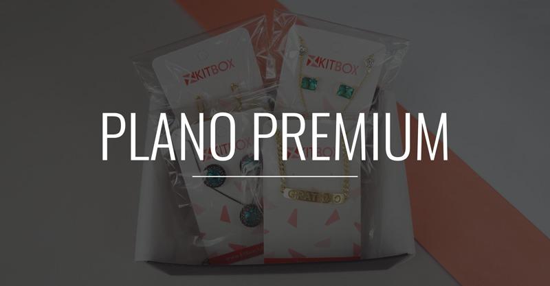 Plano Premium do Clube de assinatura de semijoias